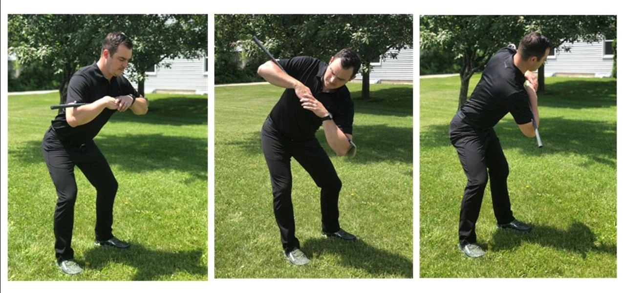 Warm up your golf swing to prevent injury