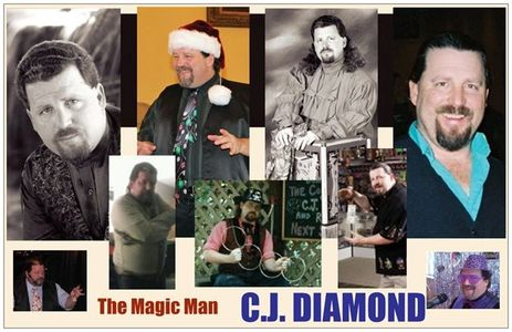 The many faces of C.J. Diamond.