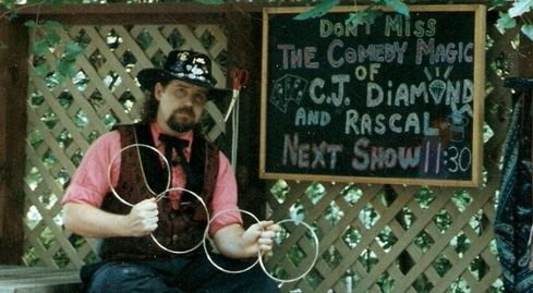 Performing at Silver Dollar City in Branson, MO.