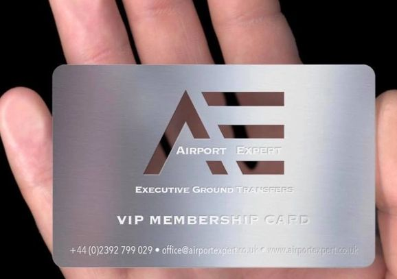 Airport Expert VIP Membership Club Card. Register yourself in Airport Expert VIP's Club and get offe