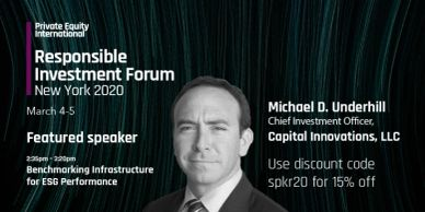 Private Equity International Responsible Investment Forum New York 2020
