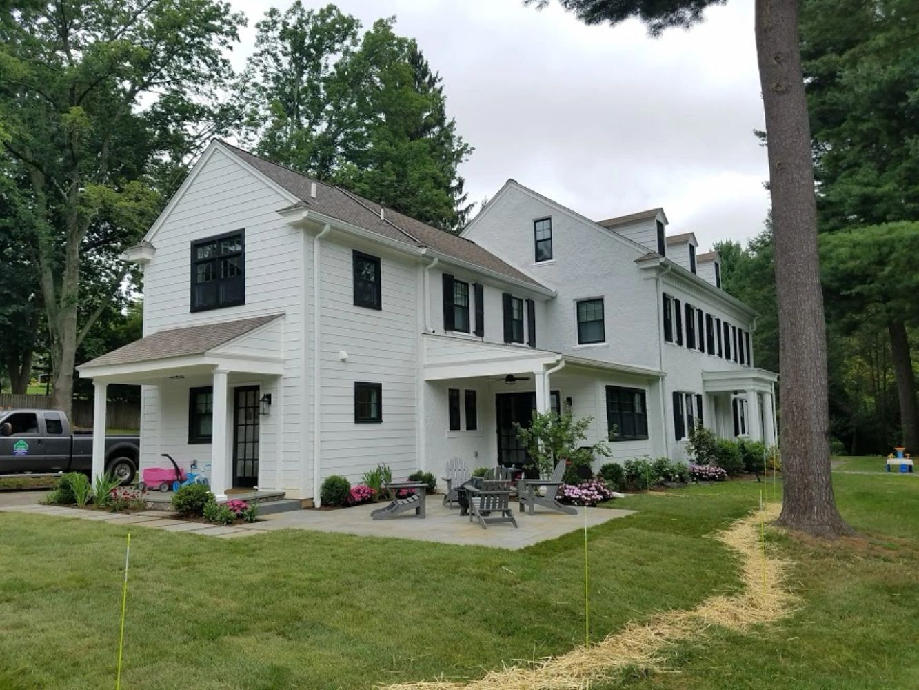 Radnor Builder Renovation James Hardie Stucco Renovate General Contractor Main Line Easttown