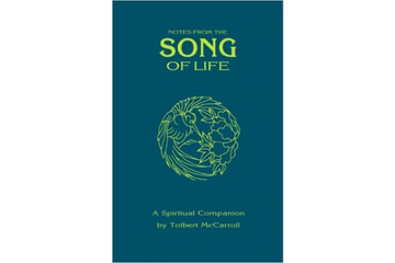 Book Cover, Notes from the Song of Life