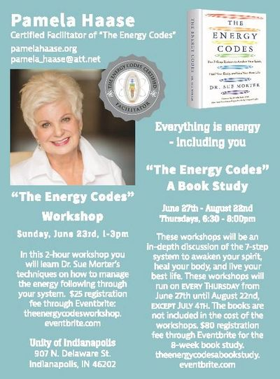 "Pamela Haase  Certified Facilitator of ""The Energy Codes"""