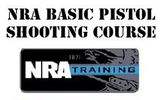 NRA Basic Pistol Shooting Course / On Range