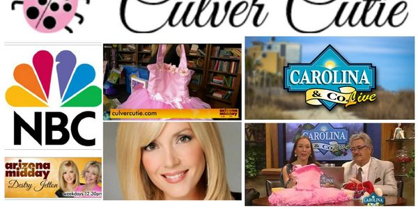 Culver Cutie has been featured on NBC Carolina & Co Live and Arizona Midday.