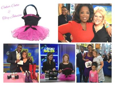 Culver Cutie has unique and adorable bags and purses that have been featured on Good Morning America with Tory Johnson, Oprah Winfrey, Michael Strahan, and Robin Roberts.