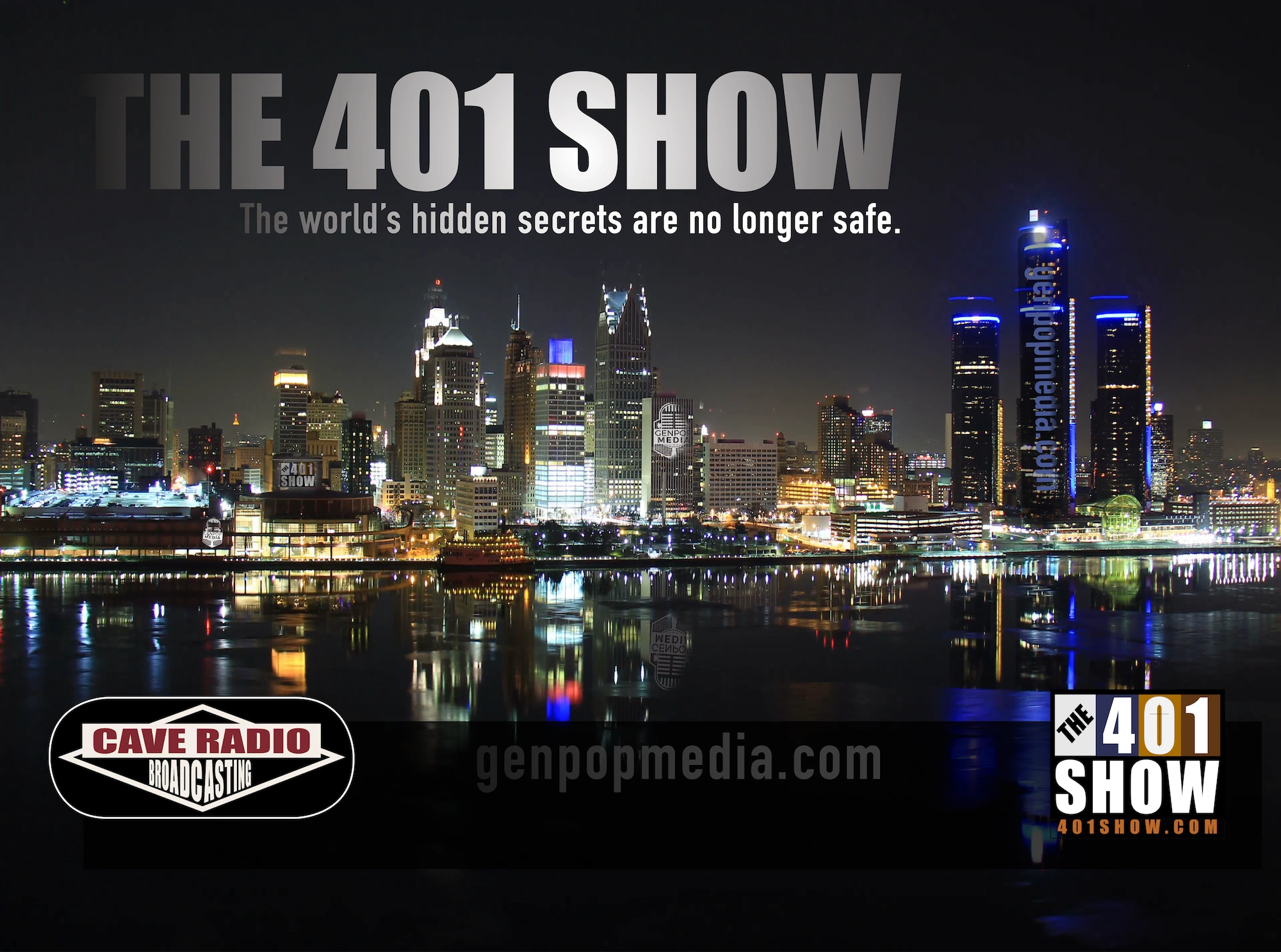 The 401 show broadcasts from Detroit to the world, with listeners in more than a dozen countries.