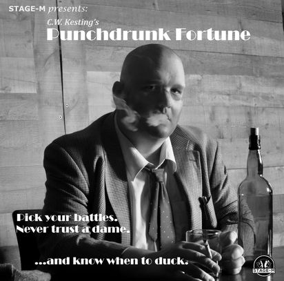 Punchdrunk Fortune is a three episode comedic audio play presented in the classic Noir-Radio style.