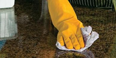 How to clean granite top