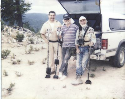 Location: California Sierra Nevada Left to Right Greg Moscini ,  Alan Holcombe, Jimmy Sierra