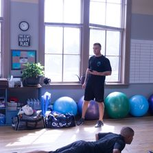Max Fritz Personal Trainer Training by J Accountability & Goal Setting with Care Racine Wisconsin