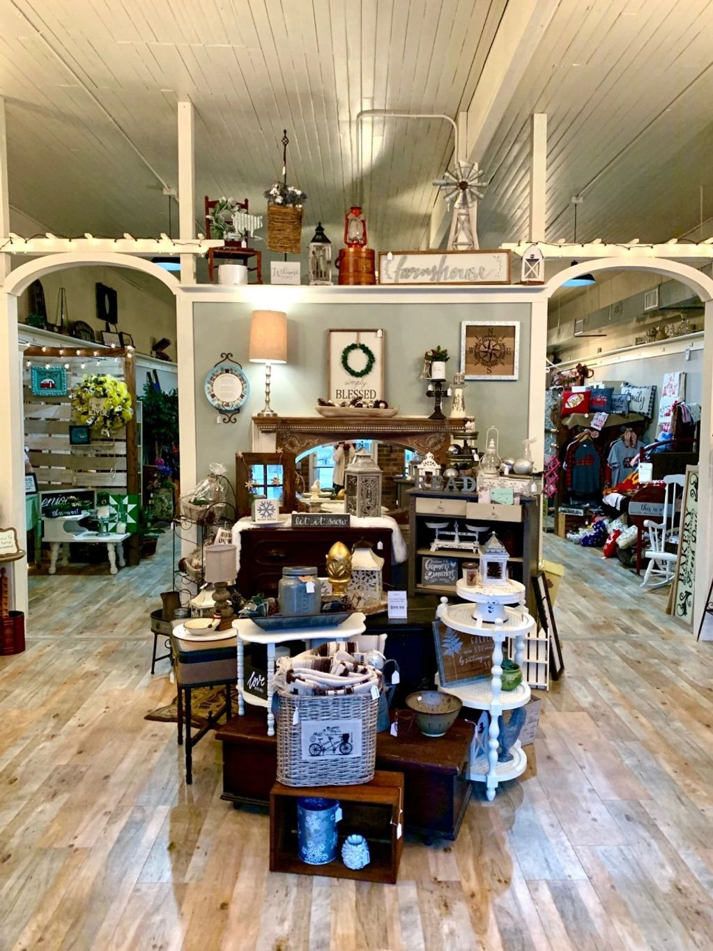 Come in and experience the unique and ever-changing merchandise displays at Painted Barrels.