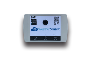 Weather Smart Bluetooth control system for outdoor fireplaces.