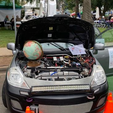 AMOG, a mobile air quality lab at Santa Barbara's Earth Day festival