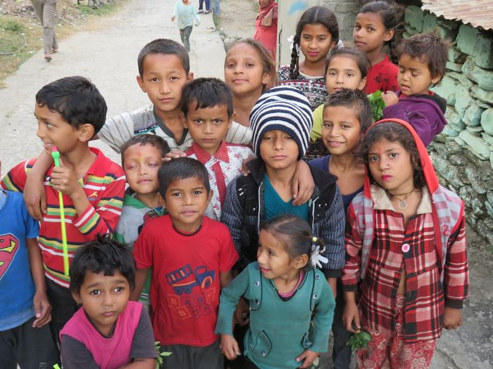 November 2017; Some of the beautiful children of Darchula Nepal.