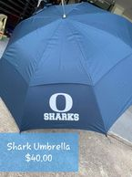 Oasis Sharks Umbrella