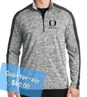 Oasis Sharks Quarter Zip Jacket