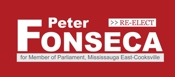Re-Elect Peter Fonseca for MP, Mississauga East-Cooksville