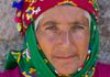 Portrait of a local woman in the Northern Aegean