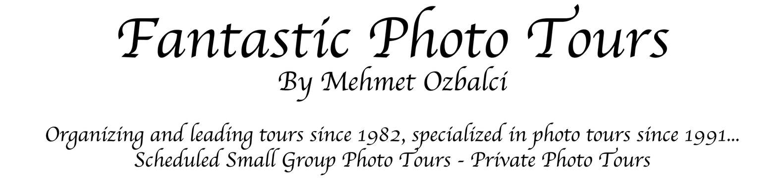 Fantastic Photo Tours