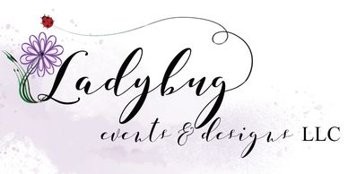 Lady Bug events and designs logo