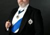 Steve playing King Edward VII for a Drama Documentary