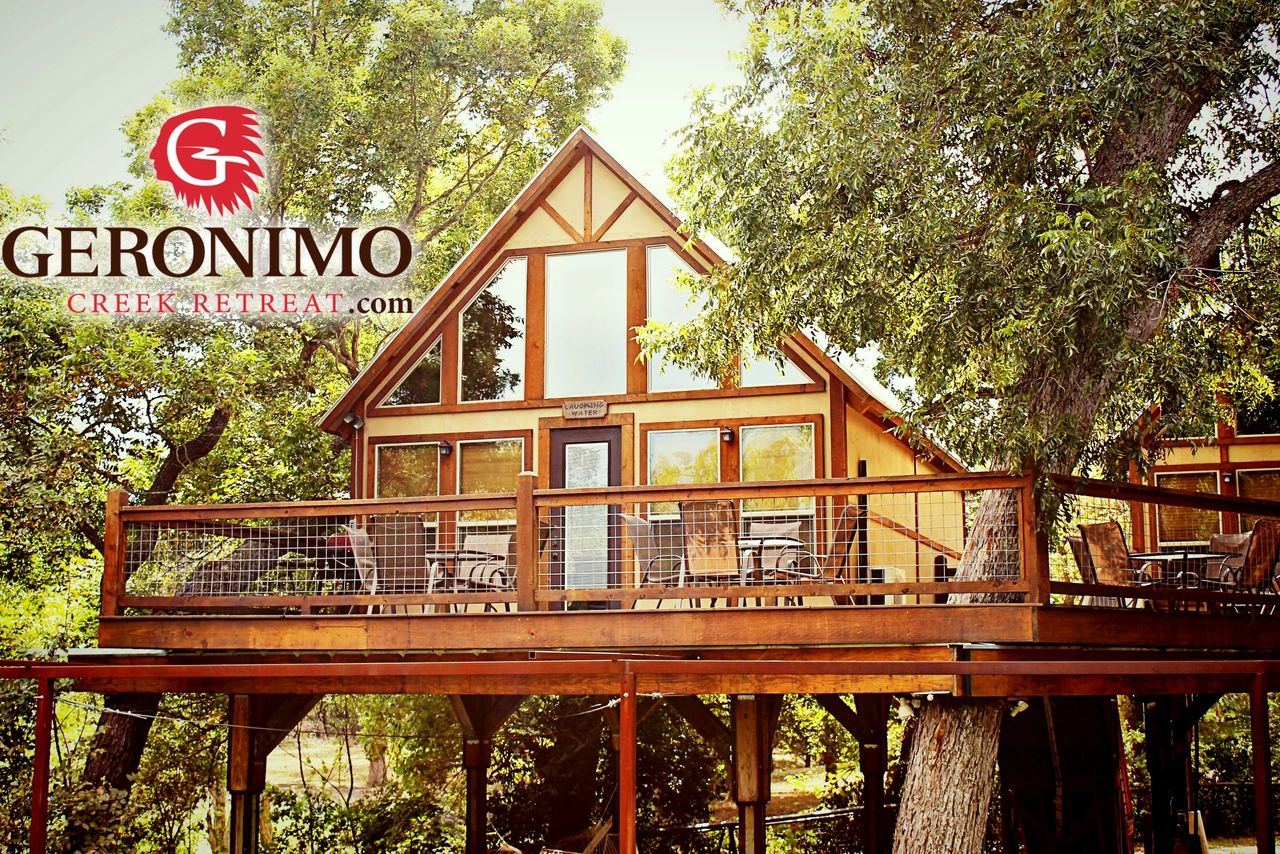 Our New Braunfels Vacation Rental Sister Property Geronimo
