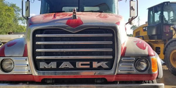 Mack Trucking hauls rock, lime, sand, dirt, gravel, and construction materials