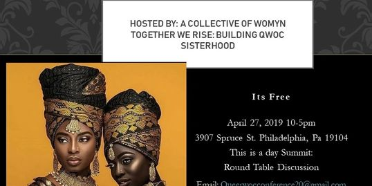 This summit consist of a Collective of Womyn that have decided to come together to create space for