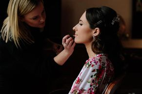 shrigley hall wedding makeup