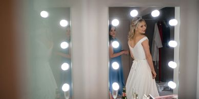 the holford estate wedding hair and makeup cheshire