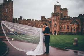 peckforton castle wedding hair and makeup