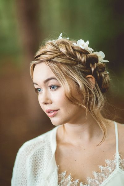 wedding hair makeup cheshire bridal boho