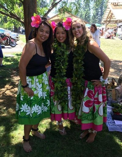 "Hula Blessing:  ""May you have grace in your step, song in your hand, and aloha in your heart."""