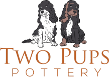 two pups pottery