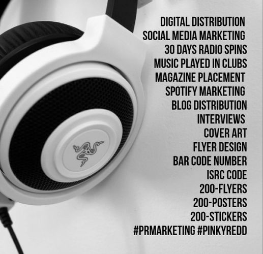 The Pinky Redd Brand - Music Marketing, Marketing, Music