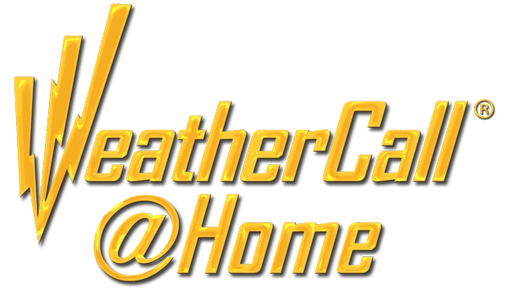 Weather alert service for your home