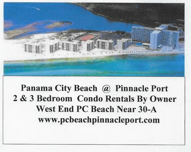 Panama City Beach,Condo Rentals,Condo Rentals By Owner,Pinnacle Port Condo Rentals By Owner,