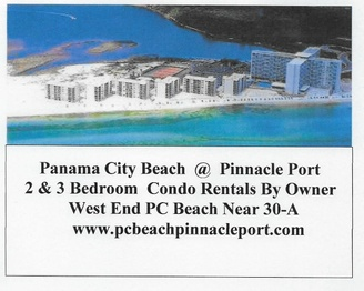 Panama City Beach 2&3 Bedroom Condo Rental By Owner West End PCB