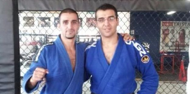 Alex with his brother Firas at Tristar