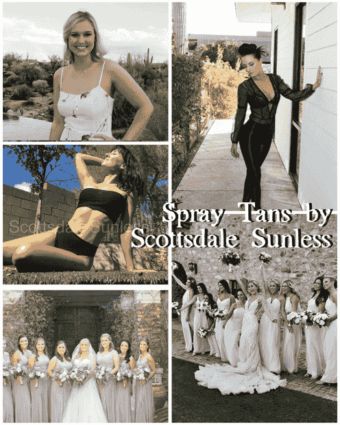 Scottsdale Sunless best spray tanning company