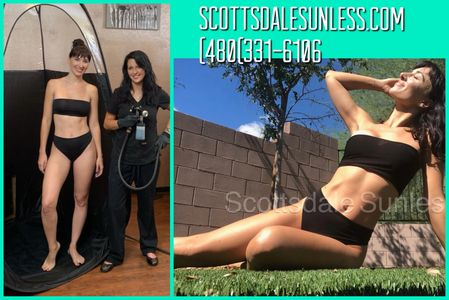 Scottsdale Sunless Spray Tanning in Phoenix.
