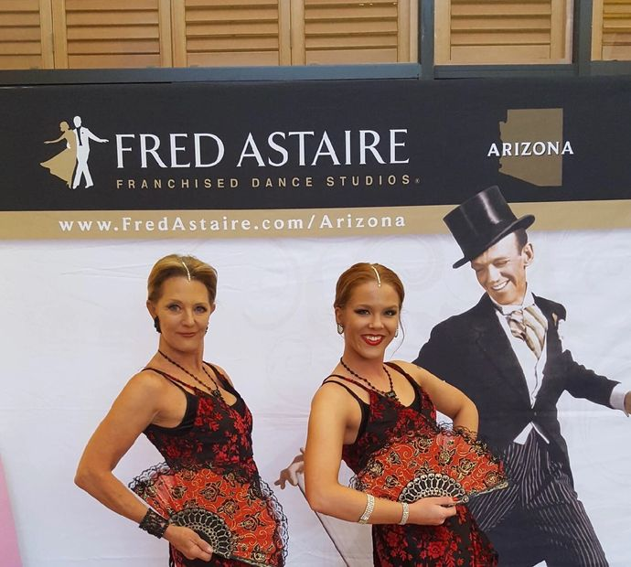 fred Astaire spray tanning for dance competitions