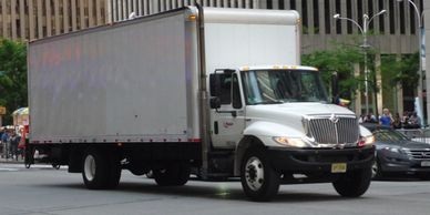 commercial moving truck