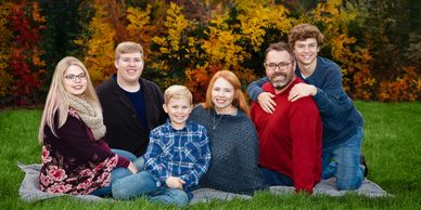 Family Portrait, Family, Family Photography, Family Photographer, Kids, Mom, Dad, Children, Park