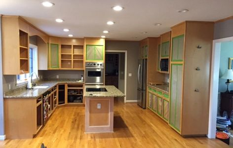 Cabinet Refinishing is a great option for homeowners who want to update their kitchen cabinets witho