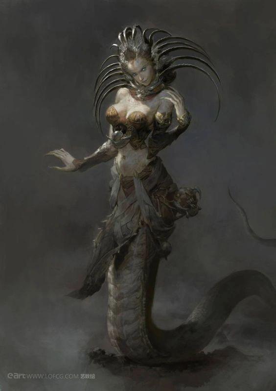 Echidna in Encylopedia of mythology