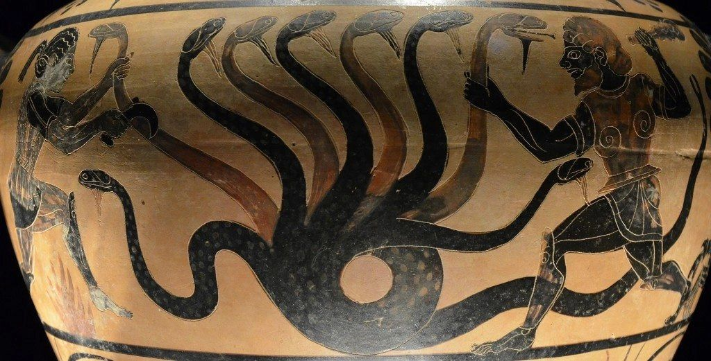 Hydra: Multi-headed snake Photographer: Carole Raddato