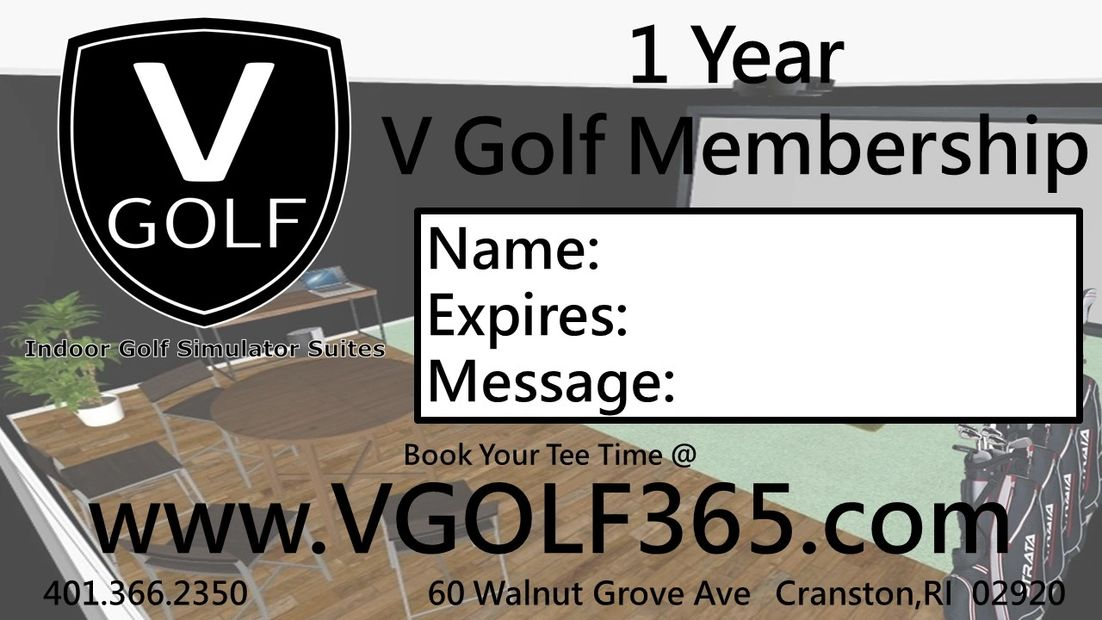 V Golf Indoor Golf Simulator Suites in Cranston, RI. Minutes from Johnston and Warwick.